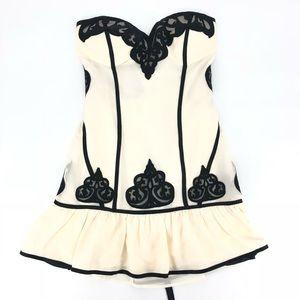 Bebe Sexy Silk Corset Dress